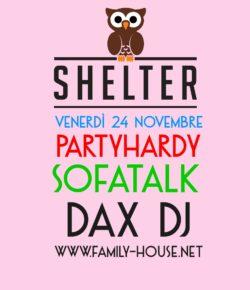 Venerdì 24 / partyhardy with SofaTalk