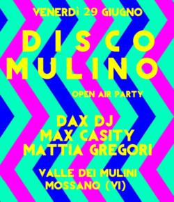 29.06.2018 Disco Mulino