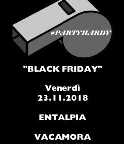 """23.11.2018 """"BLACK FRIDAY"""" PARTYHARDY X VACA MORA"""
