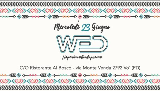 WED Opening Party 2021